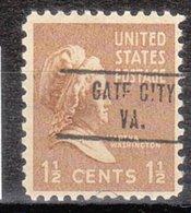 USA Precancel Vorausentwertung Preo, Locals Virginia, Gates City 734 - Vereinigte Staaten