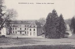 RIS-ORANGIS - Château De Ris, Côté Ouest - Ris Orangis