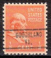 USA Precancel Vorausentwertung Preo, Locals Virginia, Goochland 734 - Vereinigte Staaten