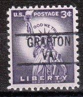 USA Precancel Vorausentwertung Preo, Locals Virginia, Grafton 819 - Vereinigte Staaten