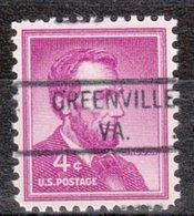 USA Precancel Vorausentwertung Preo, Locals Virginia, Greenville 821 - Vereinigte Staaten
