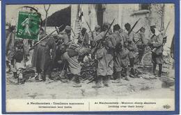 CPA Négritude Guerre 14-18 Patriotique Germany Kaiser Guillaume II Timbré Non Circulé - Guerre 1914-18
