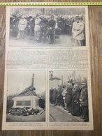 ANNEES 20/30 INAUGURATION DU MONUMENT BOSSUT A BULLY GRENAY DEPUTE DU NORD PLICHON - Collections