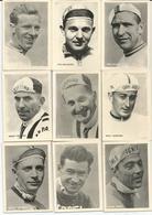 9 Chromos Coureur Wielrenner Renner Cycliste Parade Des Coureurs Cyclistes Wielrenners Années 50' 60' (1) - Cycling