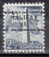 USA Precancel Vorausentwertung Preo, Locals Virginia, Halifax 729 - Vereinigte Staaten