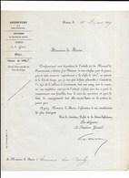 ROUEN ERNEMONT  PREFECTURE CLASSE DE 1858 - Historical Documents