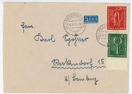 Nr. 217 + Nr. 218 Fernbrief Aus Neustadt 1955 - Michel 35 € - BRD
