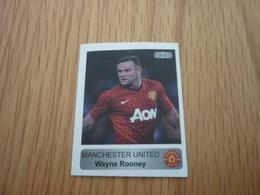 Wayne Rooney Manchester United UK U.K. English Football Europe's Champions 2013-2014 Greek Sticker - Adesivi