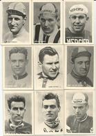 9 Chromos Coureur Wielrenner Renner Cycliste Parade Des Coureurs Cyclistes Wielrenners Années 50' 60' (2) - Cycling
