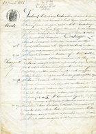 Pardenant Vente , Le 20 Janvier 1884, à CAMER: Notaire Impérial à HERBIGNAC. Timbre Fiscal: 1 F50c - Historical Documents