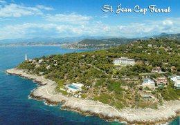 CPM - M - ALPES MARITIMES - SAINT JEAN CAP FERRAT - LE PHARE - LE GRAND HOTEL DU CAP - Saint-Jean-Cap-Ferrat