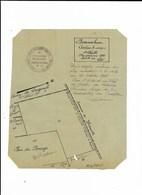BORNAMBUSC GODERVILLE PLAN CADASTRE 1935 - Disegno Tecnico