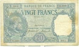20 FRANCS BAYARD 4 FEVRIER 1918 - 1871-1952 Circulated During XXth