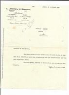 BOLBEC LILLEBONNE LEFEVRE GRANVAL ARCHITECTES 1933 - Old Paper