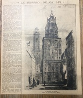 ANNEES 20/30 LE BEFFROI DE CALAIS ARTHUR MAYEUR - Collections