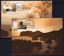 Portugal Azores 2007 Volcano Eruption, Lighthouse Set Of 2 Maximum Cards, Ref. 133 - Lighthouses