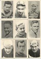 9 Chromos Coureur Wielrenner Renner Cycliste Parade Des Coureurs Cyclistes Wielrenners Années 50' 60' (3) - Cycling