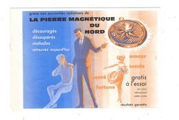ANNEMASSE (74) Cpsm Publicitaire Magnétisme La Pierre Magnétique Du Nord - Annemasse