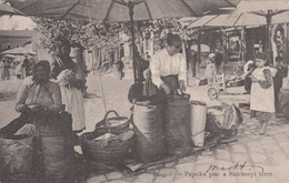 SZEGED (Ungarn) - Paprika Piac A Szèchenyi Teren, Karte Gel.1906 - Ungarn