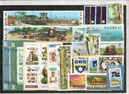 ISOLA NAURU (Oceano Pacifico) Lotto Di 29 Francobolli Usati.1a Scelta, Tutti Di Grandi Dimensioni,tutti Diversi.34 € - Nauru