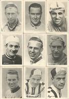 9 Chromos Coureur Wielrenner Renner Cycliste Parade Des Coureurs Cyclistes Wielrenners Années 50' 60' (4) - Cycling