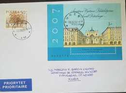 O) 2007 POLAND. ST PETESBURG -INTERNATIONAL PHILATELIC  EXHIBITION-SC 3863,  PRIORITY SERVICE TO CARIBE - 1944-.... Republic