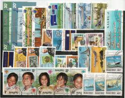 ISOLA NAURU (Oceano Pacifico) Lotto Di 33 Francobolli Usati.1a Scelta, Tutti Di Grandi Dimensioni,tutti Diversi. 27 € - Nauru