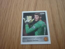 David DeGea Manchester United UK U.K. English Football Europe's Champions 2013-2014 Greek Sticker - Adesivi