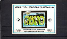 Olympische Spelen - Voetbal , Tchad Postfris - Summer 1972: Munich