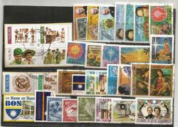 ISLA NAURU (Océano Pacífico) Lote De 34 Sellos Usados.1ra Calidad, Todos Grandes, Todos Diferentes. 25 € - Nauru