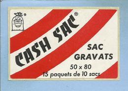 Cash Sac Gravats 50X80 15 Paquets De 10 Sacs 2 Scans (déchets Recyclage) - Stickers