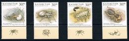 Serie Set Araignées Scorpions Insectes Spider -  Neuf ** MNH - Kazakhstan 1997 - Kazakhstan