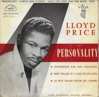 """Lloyd Price 45t. EP """"personality"""" - Vinyles"""