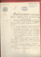 CRIQUETOT L'ESNEVAL LA POTERIE ME LIEURY NOTAIRE VENTE FERME BERTRAN A M CONRAD 1897 - Historical Documents