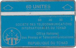 Chad - ONPT - L&G Optical - Blue Card 60 - 60U - 244B - 16.000ex, Used - Chad