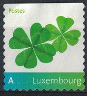 Luxembourg 2008 Sans Gomme Used Trèfle à Quatre Feuilles - Lussemburgo