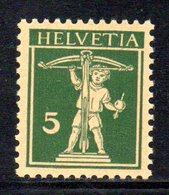 430/1500 - SVIZZERA 1930 ,  Unificato N. 242  ***  MNH - Nuovi