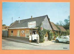 CPM - Bray Sur Somme   -(80.Somme)  -Hôtel Restaurant Du Port - Bray Sur Somme