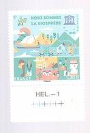 France - UNESCO - Neuf -  Nous Sommes La Biosphère (1 Timbre X 1,30€) - Neufs