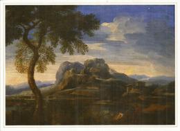 Paysage De La Campagne Romaine, Par Gaspard Dughet-Poussin. Musée Des Beaux-Arts De BAKU, CP Neuve 20 X 14 Cm - Azerbaïjan