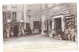 BESSE (63) Devantures De Commerces Magasins Réunis Quincaillerie Jouets Souvenirs - Besse Et Saint Anastaise