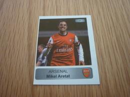 Mikel Aretat Arsenal UK U.K. English Football Europe's Champions 2013-2014 Greek Sticker - Adesivi