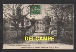 DD / 70 HAUTE SAÔNE / SCEY-SUR-SAÔNE / PONT DES BOULINGRINS ET ENTRÉE DU CHÂTEAU / CIRCULÉE EN 1912 - Francia