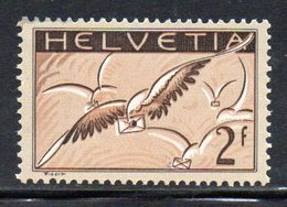 438/1500 - SVIZZERA 1929 , Posta Aerea  Unificato N. 15  ***  MNH - Poste Aérienne