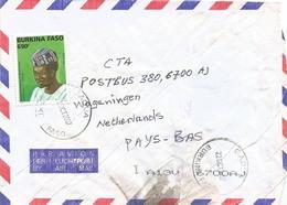 Burkina Faso 2007 Gaoua Headdress Hat Yatenga Cover - Burkina Faso (1984-...)