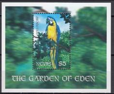 Nevis 2001 - YV (MNH) Blue-and-yellow Macaw (Ara Ararauna) - Parrots