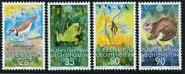 1989 - Lichtenstein - Bedrohte Arten - Einwandfrei Postfrisch/** - W.W.F.