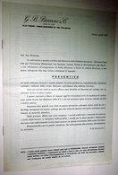 G. B. PARAVIA & C. TORINO PREVENTIVO - Italia