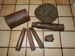 Lot De Fouille   Armée Allemande Armée Francaise 39/45 - Decorative Weapons