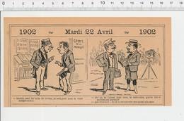 2 Scans Humour Fumeur D'opium Japon Veau D'or Japonais / Greffe De La Morgue PF223A - Old Paper